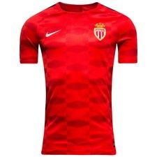Image of   AS Monaco Trænings T-Shirt Squad GX - Rød/Sort/Hvid