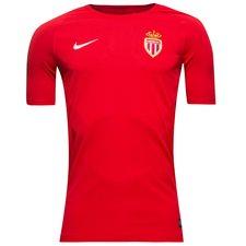 Image of   AS Monaco Trænings T-Shirt Breathe Squad - Rød/Sort/Hvid