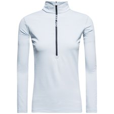 nike pro hyperwarm top - grå/sort dame - baselayer