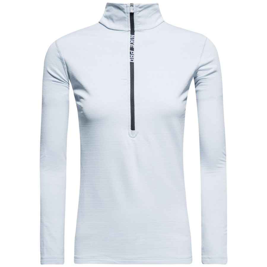 hot sale online cf5ac a35a2 nike pro hyperwarm top - gråsort dame - baselayer ...