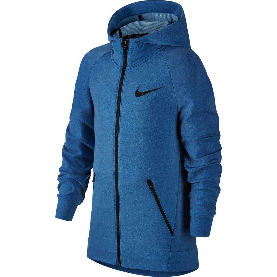 417513fa Nike Hettejakke Dry Hyper Fleece - Blå Barn   www.unisportstore.no