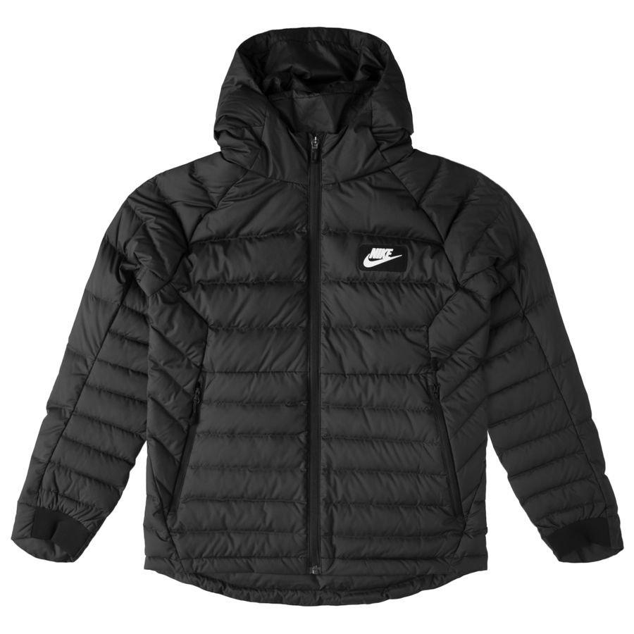 Nike Winterjacke NSW - Schwarz/Weiß Kinder