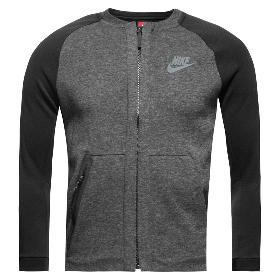 05e81b3592f7 nike bomberjacke nsw tech fleece - grau schwarz kinder - jacken ...