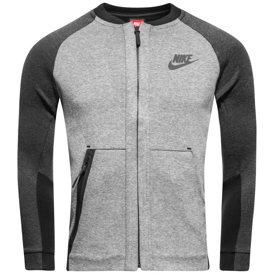 4b6b31112 Nike Bomber Jacket NSW Tech Fleece - Carbon Heather Kids