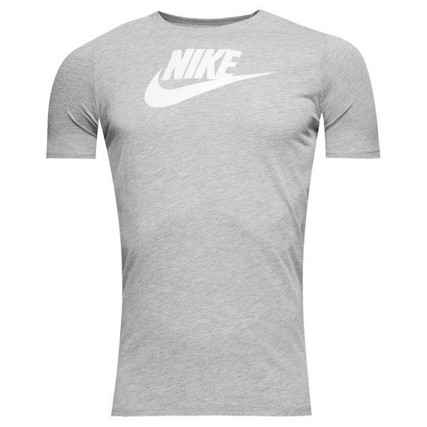 nike t-shirt nsw futura - grå/hvid børn - t-shirts