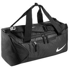 nike sportväska alpha duffel - svart/vit - väskor