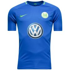 wolfsburg away shirt 2017/18 - football shirts