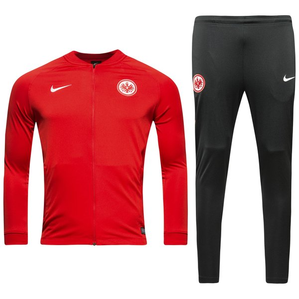 eintracht frankfurt trainingsanzug dry squad knit rot. Black Bedroom Furniture Sets. Home Design Ideas
