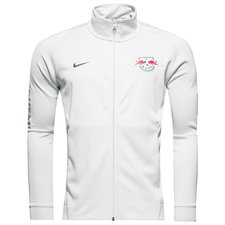 rb leipzig track top nsw authentic - grå - track tops
