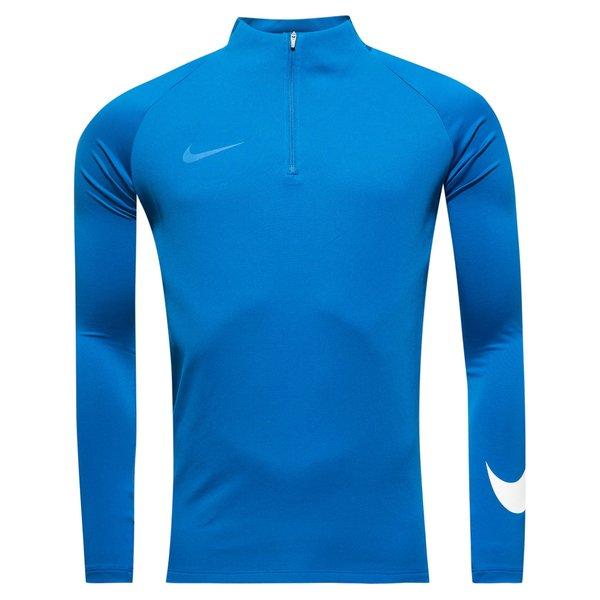 Nike Training Shirt Dry Squad Drill Ice Blue Jay White