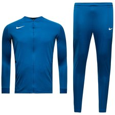 nike tracksuit dry squad knit - blue jay/white kids - track suits