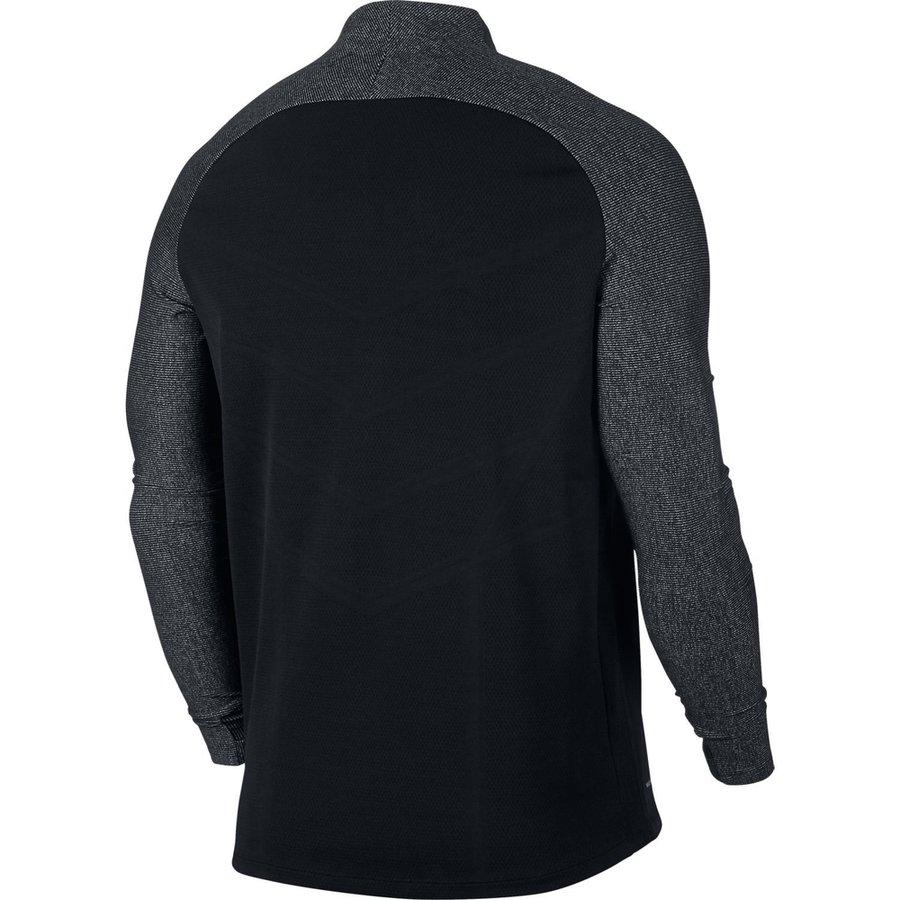 nike training shirt aeroswift strike drill - black white kids - training  tops fde381b5dc1b