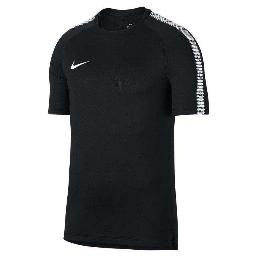 Nike T-shirt d'Entraînement Breathe Squad - Noir/Blanc Enfant
