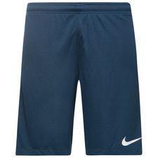 nike shorts dry squad - blå/vit barn - fotbollsshorts