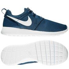 nike roshe one - navy/hvid/sort børn - sneakers