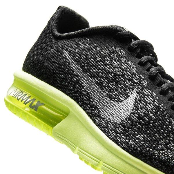 sports shoes 5f597 beff7 Nike Air Max Sequent 2 - Noir Jaune Fluo Gris Enfant 7