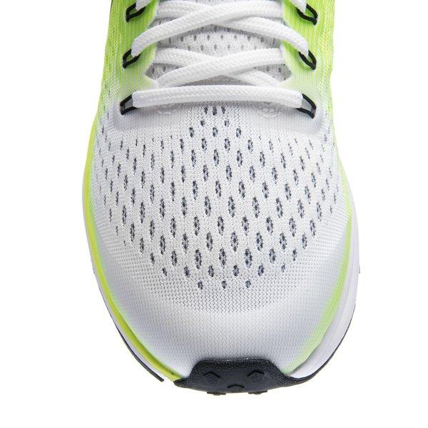 ... nike chaussures de running air zoom pegasus 34 - blanc/vert/noir enfant ...