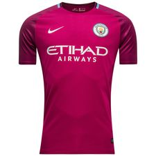 manchester city away shirt 2017/18 - football shirts