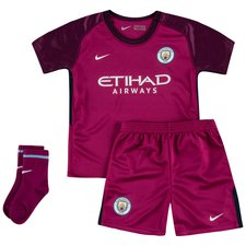 Manchester City Bortatröja 2017/18 Mini-Kit Barn