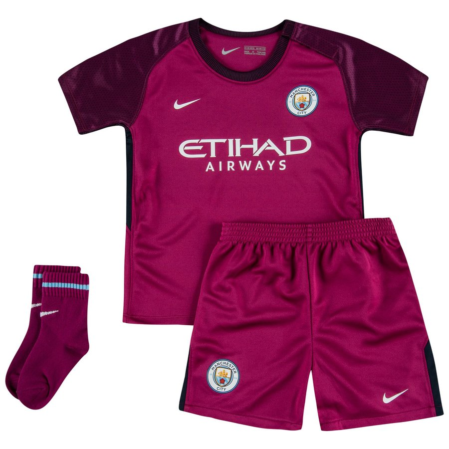 fe2c75f8 Nike Manchester City Baby SS Away Mini Kit 2017/18 | 847323-667 ...