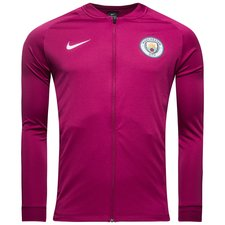 manchester city training shirt dry squad track top knitted - true berry/obsidian/white - training jackets