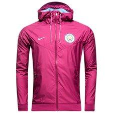 manchester city windrunner woven authentic - lilla/blå - jakker