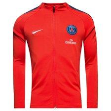 paris saint germain training jacket dry strike - rush red/midnight navy/white - training jackets