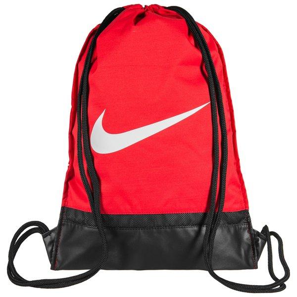0de16267b2e86 Nike Turnbeutel Brasilia - Rot Schwarz Weiß 0