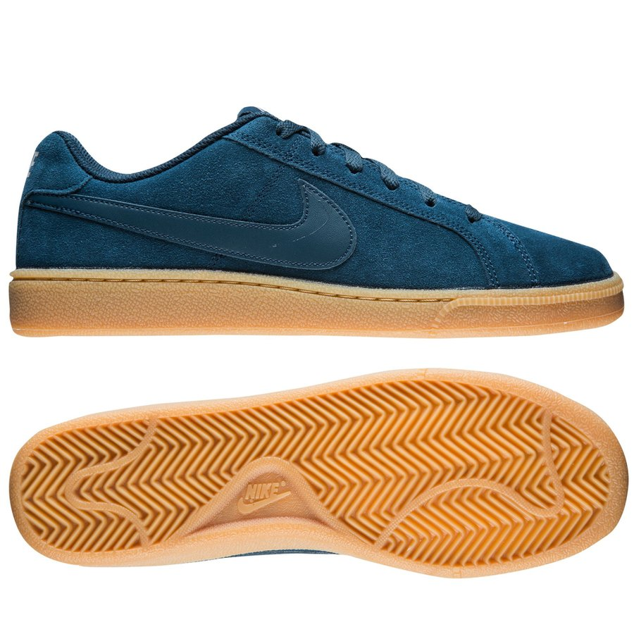 Nike Court Royale Suede Blauw