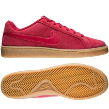 nike court royale suede - röd - sneakers