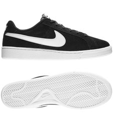 nike court royale suede - sort/hvid - sneakers
