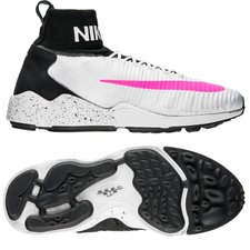 Nike Zoom Mercurial XI FC Flyknit - Weiß/Pink/Schwarz