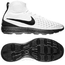 nike lunar magista ii flyknit fc - white/black - sneakers