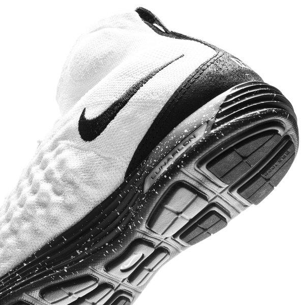 ... nike lunar magista ii flyknit fc - white/black - sneakers