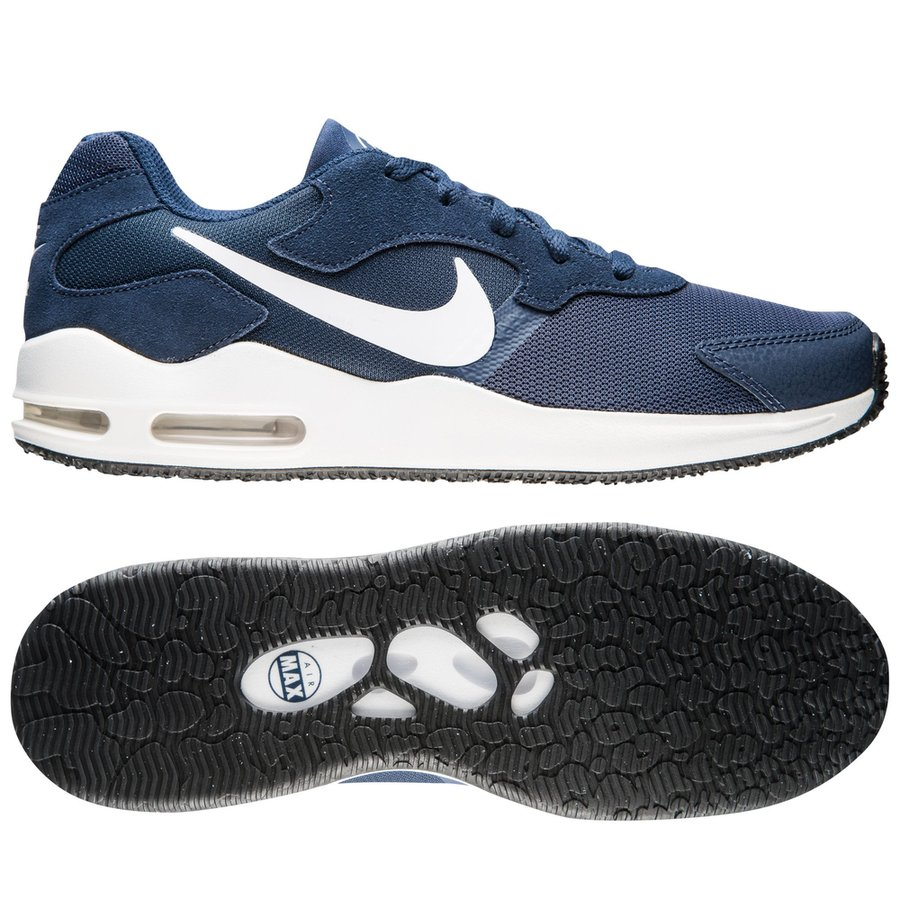 nike air max guile - navy vit - sneakers ... 0d93bade0fe97