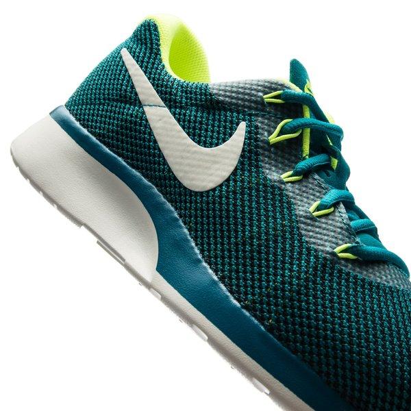 more photos b51a8 4c7d1 Nike Tanjun Racer - Vert Foncé Blanc Cassé Jaune Fluo 7