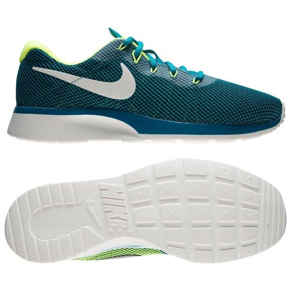 detailed pictures 46577 208c7 Nike Tanjun Racer - Vert Foncé Blanc Cassé Jaune Fluo 0