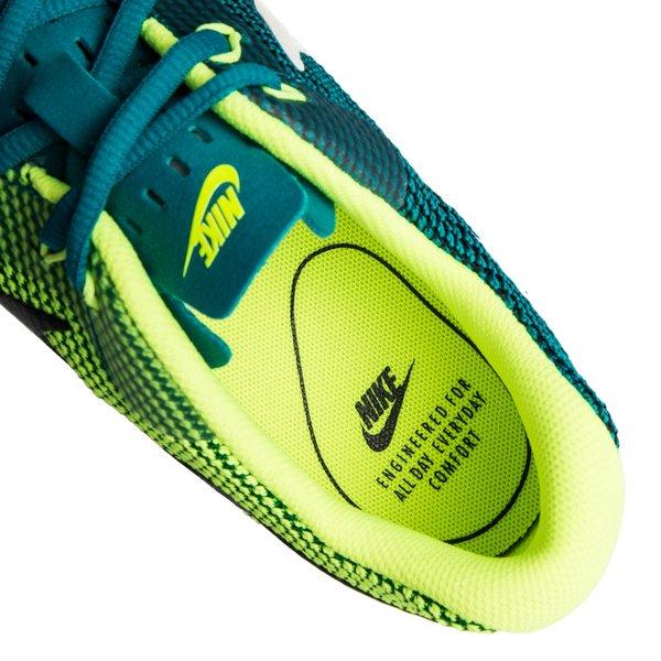 best authentic 6bfb3 74d48 Nike Tanjun Racer - Vert Foncé Blanc Cassé Jaune Fluo 4