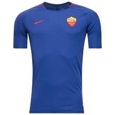 Image of   AS Roma Trænings T-Shirt Breathe Squad - Blå/Rød