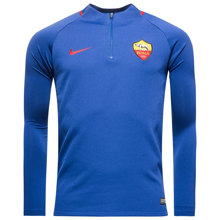 71e6e1cc3db7 roma training shirt dry squad drill - deep royal blue team crimson kids -  training ...