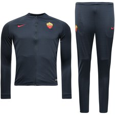 Roma Trainingspak Dry Squad Knit - Navy/Rood Kinderen