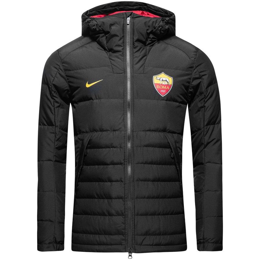 Jacke schwarz rot gold