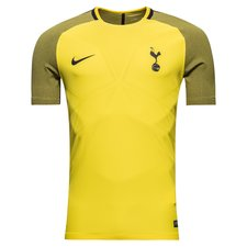 tottenham trænings t-shirt aeroswift strike - gul/lilla - træningstrøjer