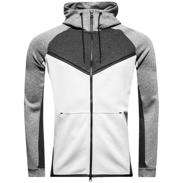 hot sales 9e971 bae9a nike veste à capuche fz nsw tech fleece windrunner - grisnoir - sweats à  ...