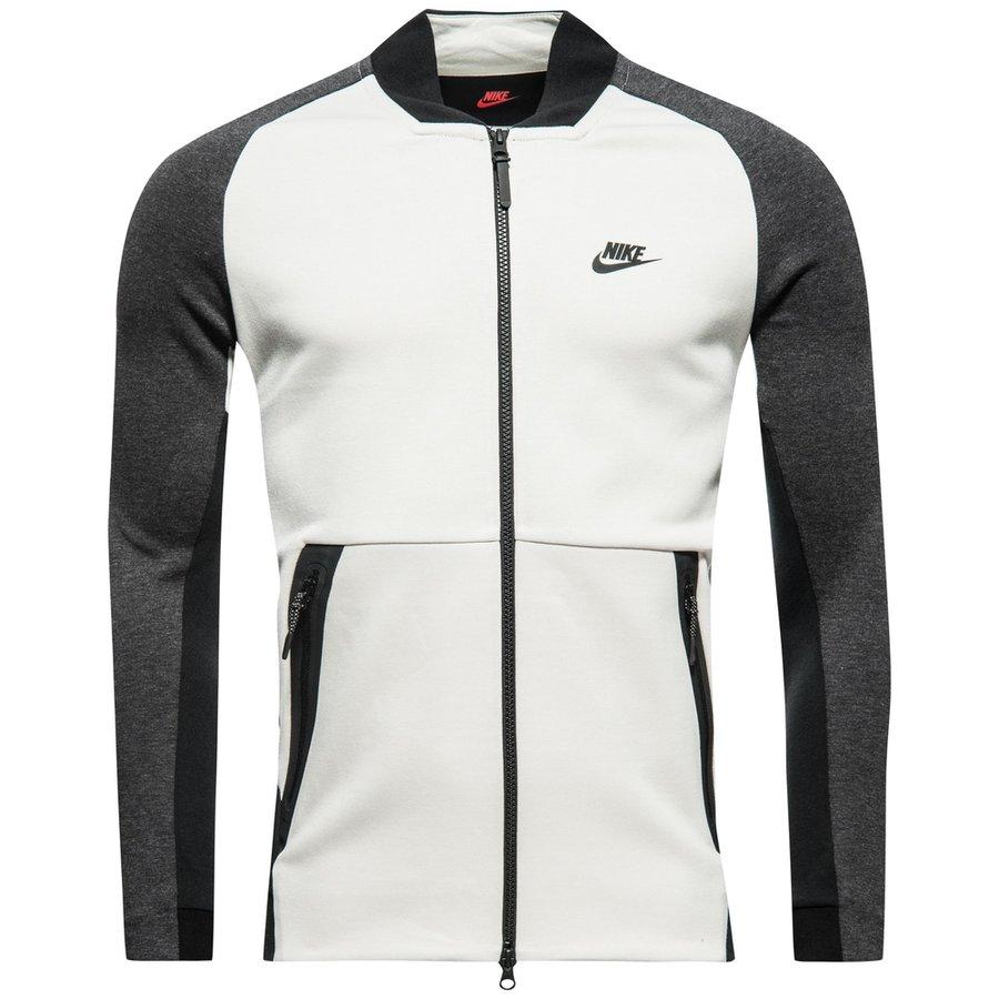 Nike Jas NSW Tech Fleece Varsity - Grijs/Zwart