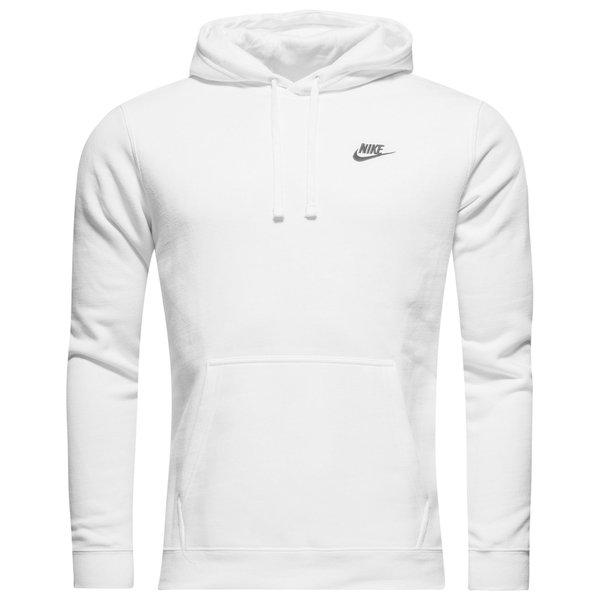 Nike Sportswear Sweat à Capuche Fleece BlancNoir