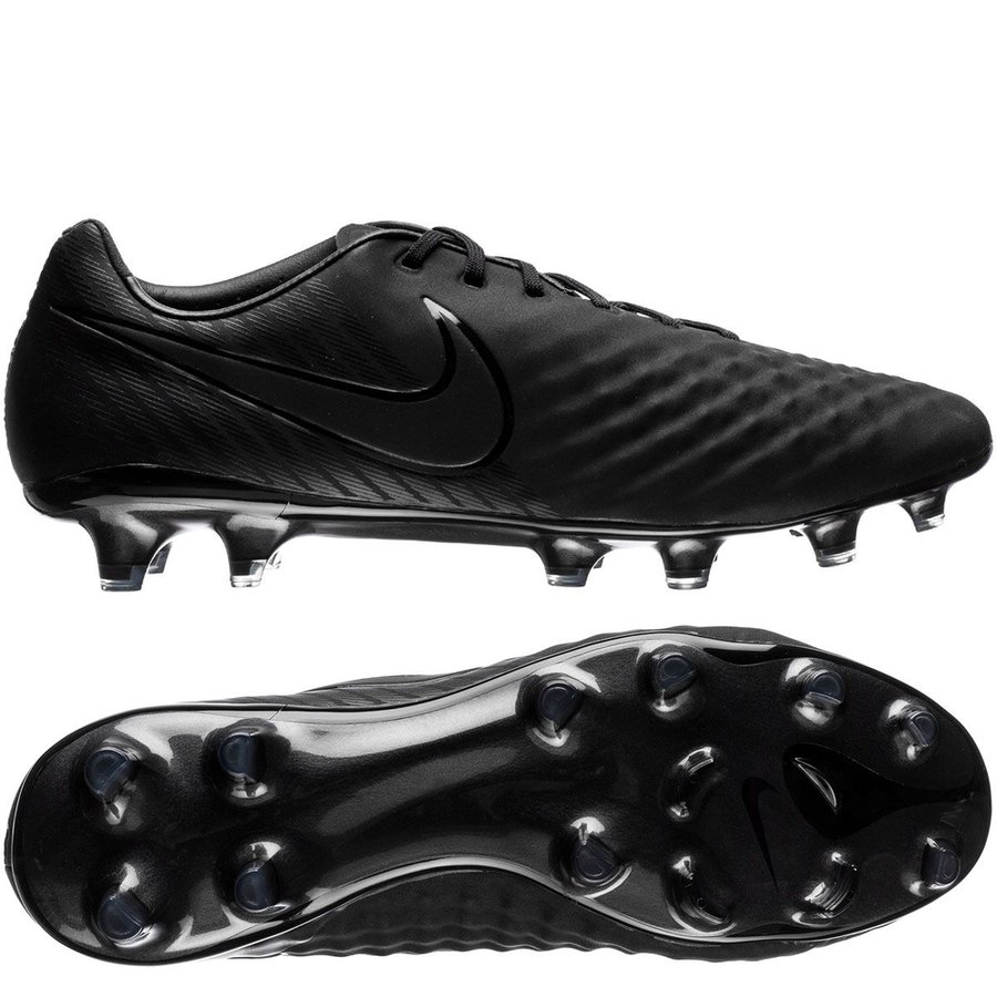 nike magista opus ii fg academy pack - black - football boots