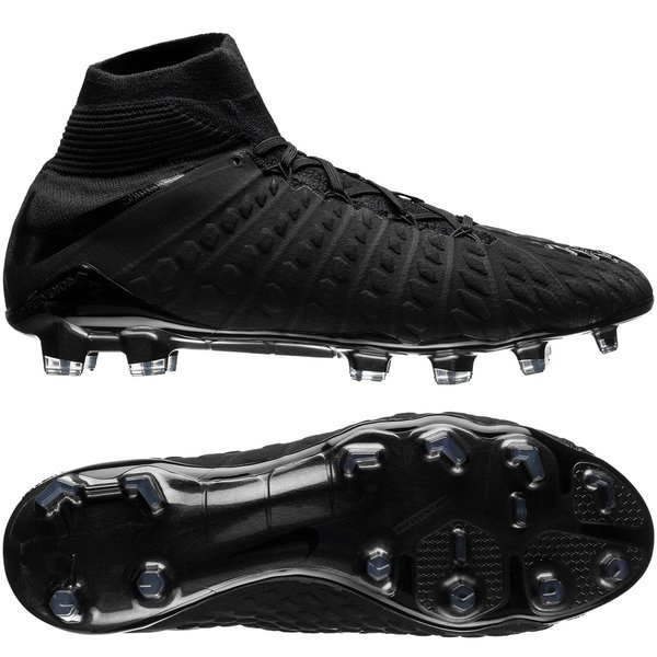 the latest 17302 b00a1 Nike Hypervenom Phantom 3 DF FG Academy Pack - Black | www ...