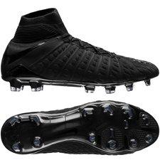 nike hypervenom phantom 3 df fg academy pack - sort - fodboldstøvler
