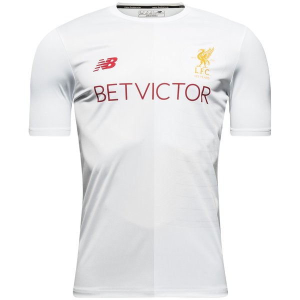 watch 77f59 e4864 Liverpool Training T-Shirt Pre-Match Elite - White | www ...